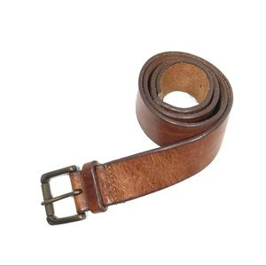 Banana Republic Brown Italian Leather Belt 34""
